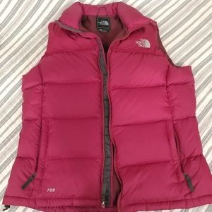 Womens Puff Puffer Nupste Vest from The North Face